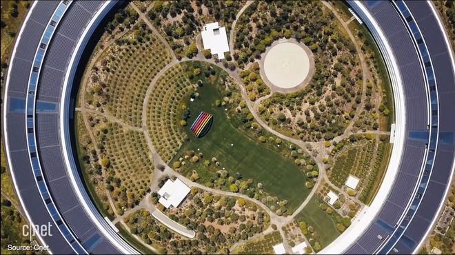Cận cảnh Apple Park: Văn phòng đẹp nhất thế giới trị giá 5 tỷ USD, nơi tổ chức buổi ra mắt iPhone 13 đêm nay! - ảnh 6