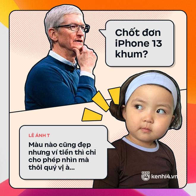 Trước giờ G: Xem Gen Z bàn tán gì về iPhone 13, đọc mà muốn rớt nước mắt! - ảnh 10