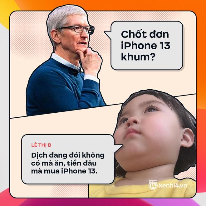 Trước giờ G: Xem Gen Z bàn tán gì về iPhone 13, đọc mà muốn rớt nước mắt! - ảnh 2