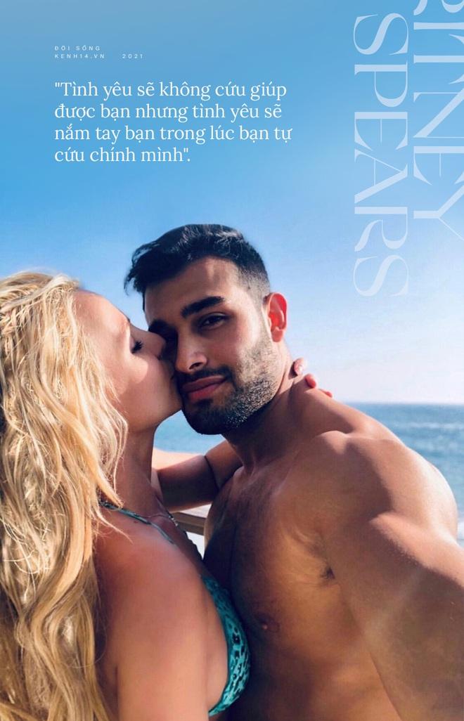 Britney Spears đính hôn cùng Sam Asghari: Tình yêu không cứu giúp nhưng sẽ nắm tay trong lúc bạn tự cứu chính mình - ảnh 5