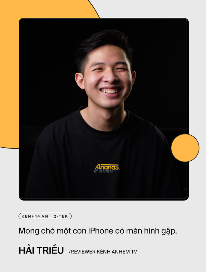 Trước giờ ra mắt iPhone 13, trai xinh gái đẹp làng công nghệ nói gì về siêu phẩm này? - ảnh 10