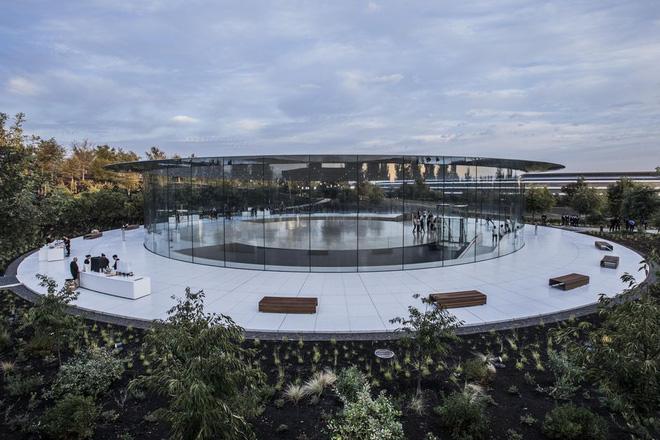 Cận cảnh Apple Park: Văn phòng đẹp nhất thế giới trị giá 5 tỷ USD, nơi tổ chức buổi ra mắt iPhone 13 đêm nay! - ảnh 7