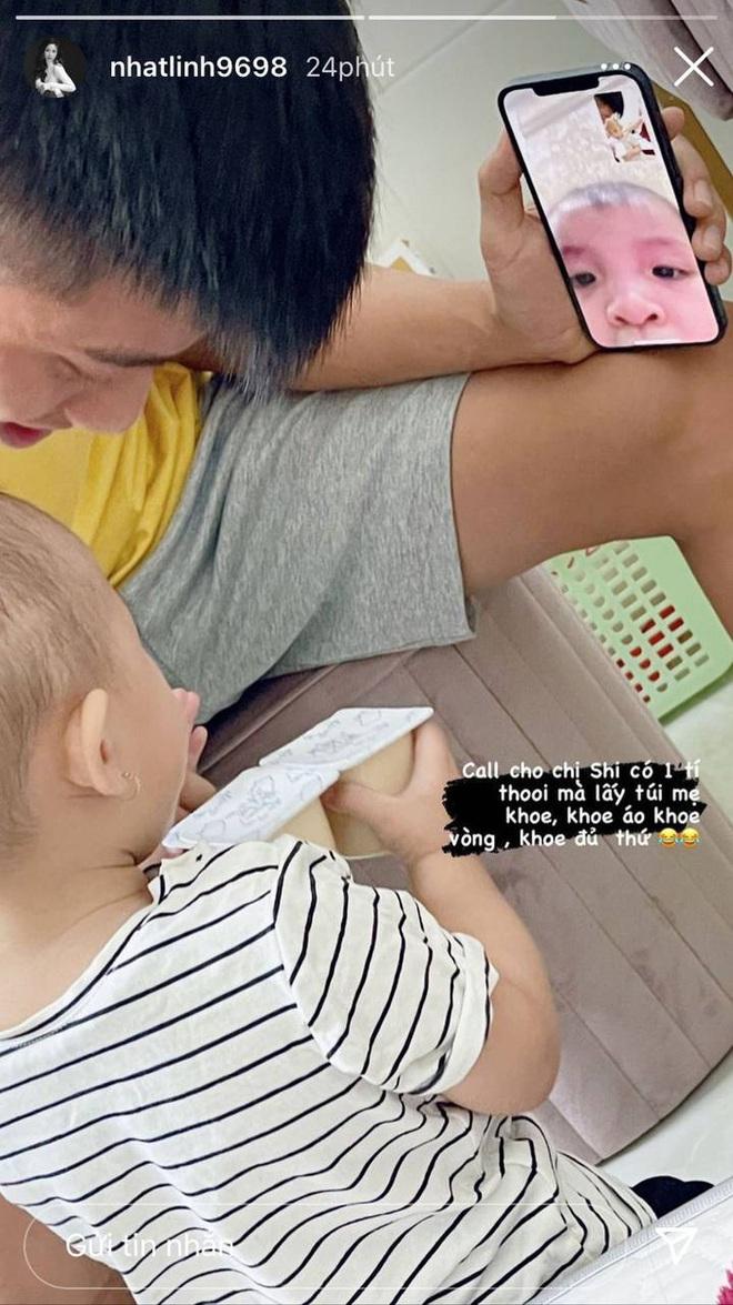 Con gái Phan Văn Đức cưng xỉu khi trò chuyện cùng con gái Bùi Tiến Dũng - ảnh 1