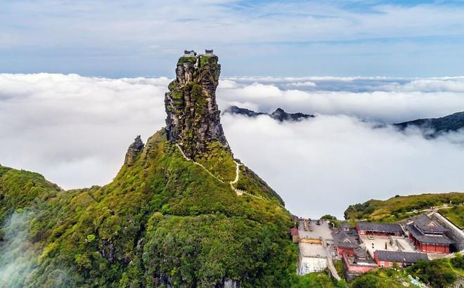 Ngôi chùa nằm trên đỉnh núi tách đôi được ví như tiên cảnh nhân gian nhưng vẫn tồn tại bí ẩn khiến hậu nhân đau đầu - ảnh 4