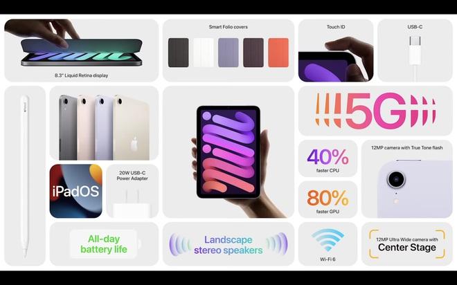 Chi tiết bộ đôi iPad và iPad mini vừa ra mắt, thiết kế tuyệt đẹp! - ảnh 2