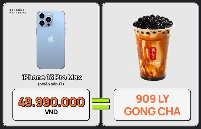 Một chiếc iPhone 13 có thể mua được: 5,5 tấn rau, 471 thùng mì hoặc tới 4 năm ăn phở!!! - ảnh 10