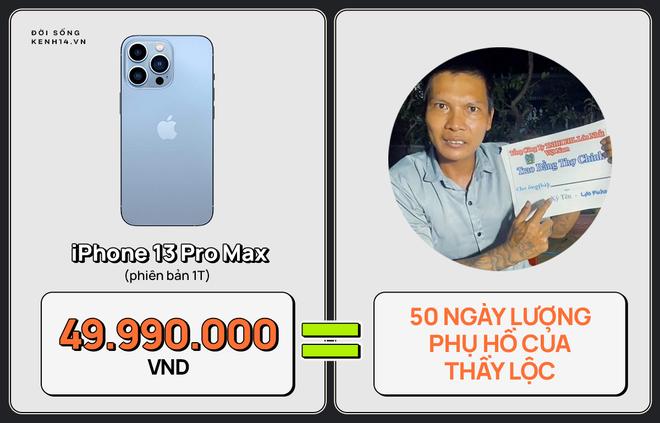 Một chiếc iPhone 13 có thể mua được: 5,5 tấn rau, 471 thùng mì hoặc tới 4 năm ăn phở!!! - ảnh 11