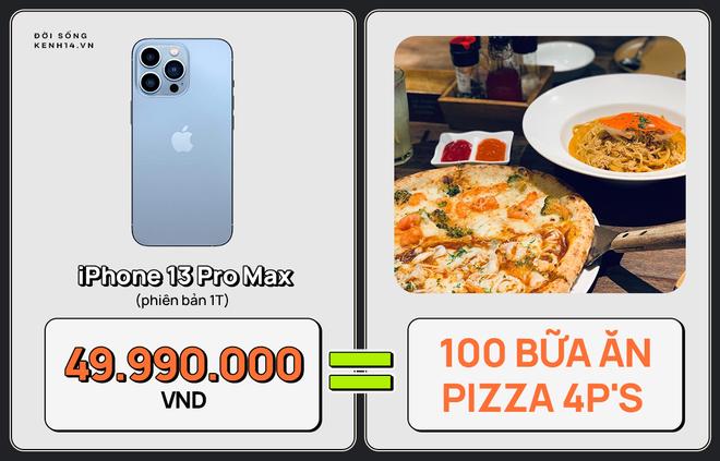Một chiếc iPhone 13 có thể mua được: 5,5 tấn rau, 471 thùng mì hoặc tới 4 năm ăn phở!!! - ảnh 8