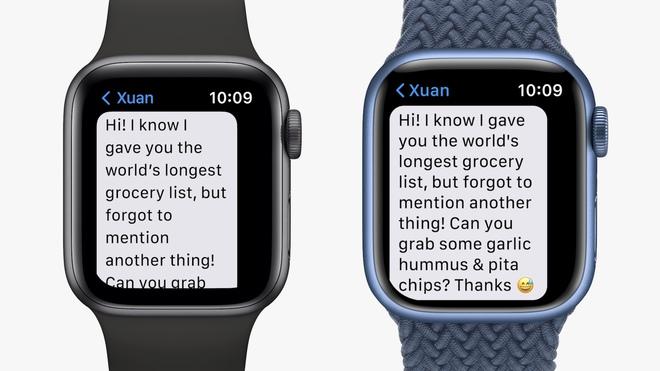 Chi tiết Apple Watch Series 7: Có 5 màu sắc, giá bán từ 199 USD - ảnh 1