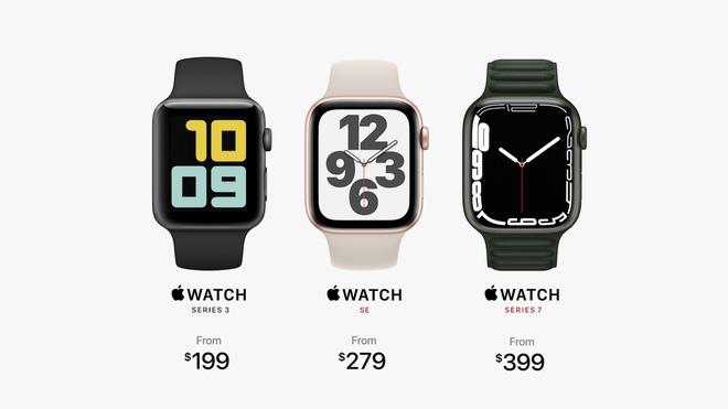 Chi tiết Apple Watch Series 7: Có 5 màu sắc, giá bán từ 199 USD - ảnh 3