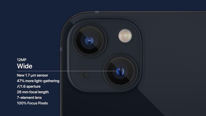 Chi tiết iPhone 13 và iPhone 13 mini vừa ra mắt: Có màu hồng cực xinh, tai thỏ nhỏ hơn, giá bán từ 699 USD - ảnh 6