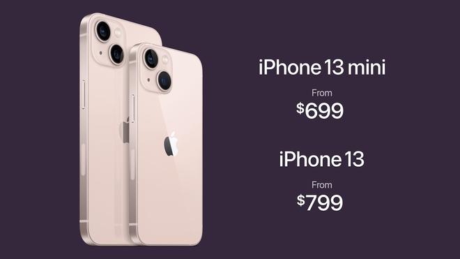 Chi tiết iPhone 13 và iPhone 13 mini vừa ra mắt: Có màu hồng cực xinh, tai thỏ nhỏ hơn, giá bán từ 699 USD - ảnh 9
