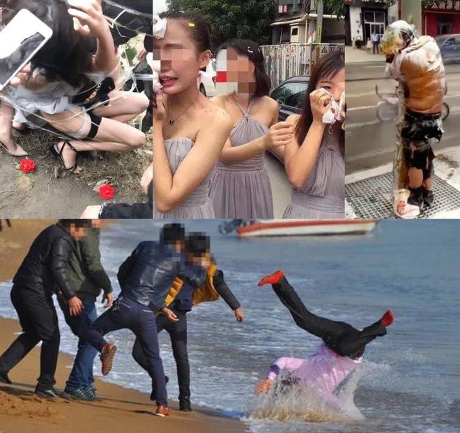 Hủ tục náo hôn: Cô dâu chú rể cắn răng chịu đựng bị sỉ nhục, xúc phạm trong đám cưới của chính mình ở Trung Quốc - ảnh 3