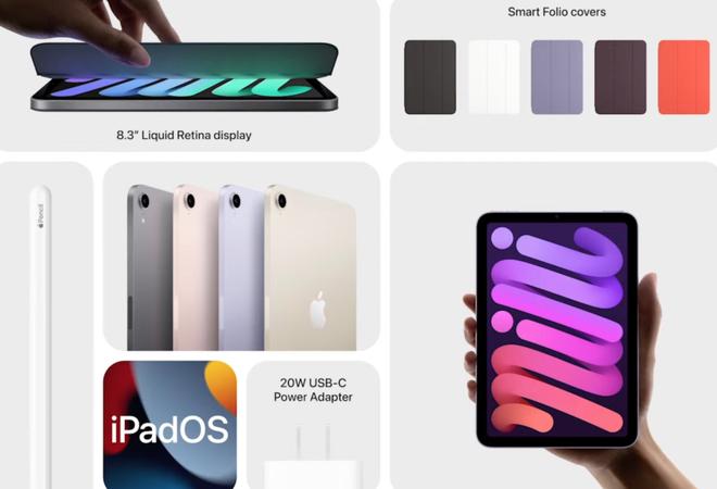 Chi tiết bộ đôi iPad và iPad mini vừa ra mắt, thiết kế tuyệt đẹp! - ảnh 6
