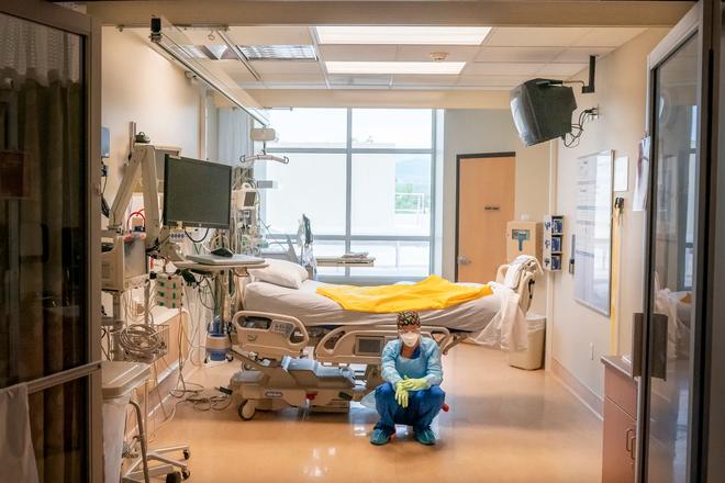 Bệnh viện từ chối bệnh nhân, người Mỹ lại chết ngạt giữa cơn bão biến chủng Covid (Delta) quá hung hãn - ảnh 5