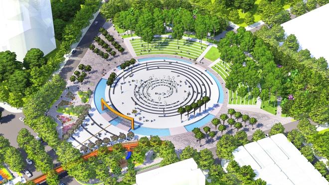 Cận cảnh khu đô thị xịn sò nơi Chủ tịch FPT dự kiến xây dựng trường học cho 1.000 em nhỏ mồ côi do Covid-19 - ảnh 4
