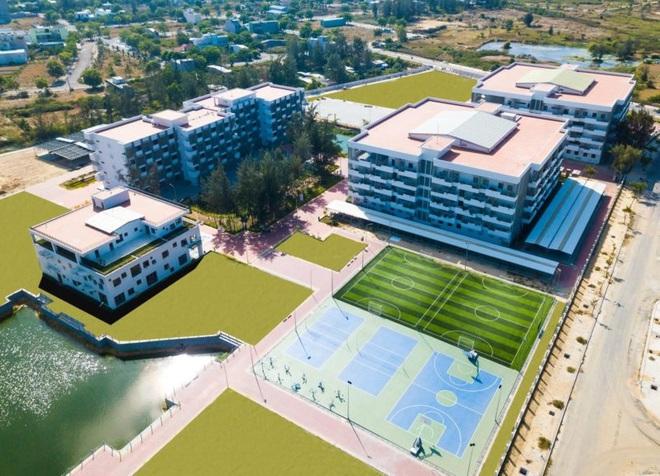 Cận cảnh khu đô thị xịn sò nơi Chủ tịch FPT dự kiến xây dựng trường học cho 1.000 em nhỏ mồ côi do Covid-19 - ảnh 16