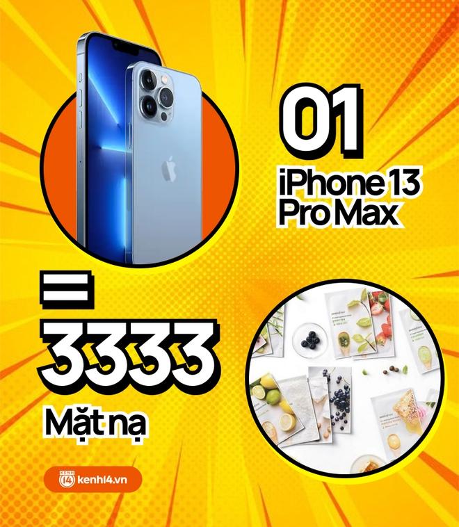 Nếu không mua iPhone 13 mới, hội chị em có thể tậu về bao nhiêu sản phẩm skincare, xem con số thôi mà phát hoảng! - ảnh 4