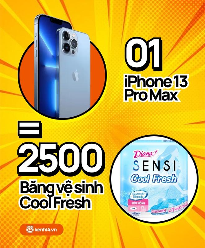 Nếu không mua iPhone 13 mới, hội chị em có thể tậu về bao nhiêu sản phẩm skincare, xem con số thôi mà phát hoảng! - ảnh 8