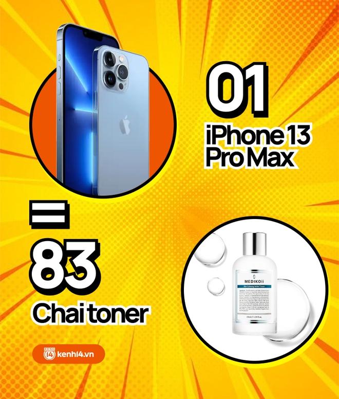 Nếu không mua iPhone 13 mới, hội chị em có thể tậu về bao nhiêu sản phẩm skincare, xem con số thôi mà phát hoảng! - ảnh 5