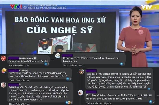 Ngay lúc Thuỷ Tiên công khai sao kê, VTV bị cộng đồng mạng tấn công dữ dội vì bản tin Nghệ sĩ và văn hóa ứng xử? - ảnh 5