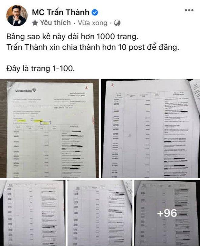 Xuất hiện những trang sao kê đầu tiên của Thuỷ Tiên, netizen nhanh chóng so sánh với Trấn Thành: Liệu có gì khác biệt? - ảnh 3