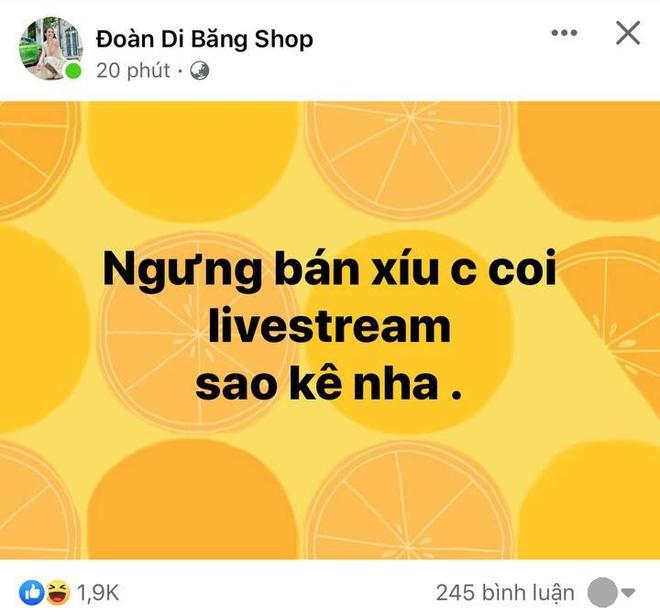 Một nữ đại gia - hàng xóm của Thuỷ Tiên ở Quận 7 tuyên bố dừng bán hàng online để hóng livestream sao kê - ảnh 3