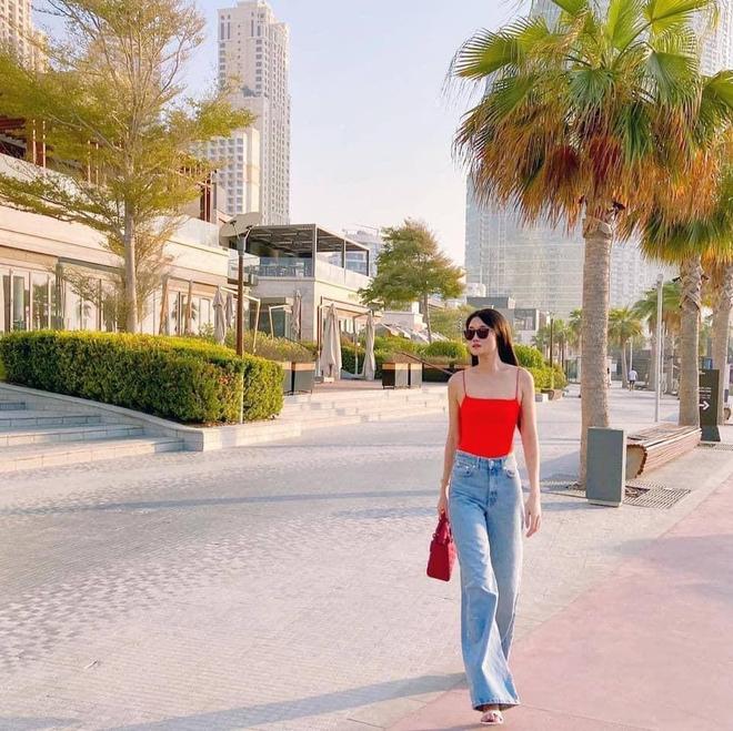 Cuộc sống như bà hoàng của Á quân Vietnam's Next Top Model tại Dubai: Ở nhà 23 tỷ, thuê giúp việc 17 triệu, đi du lịch đều đều - ảnh 10