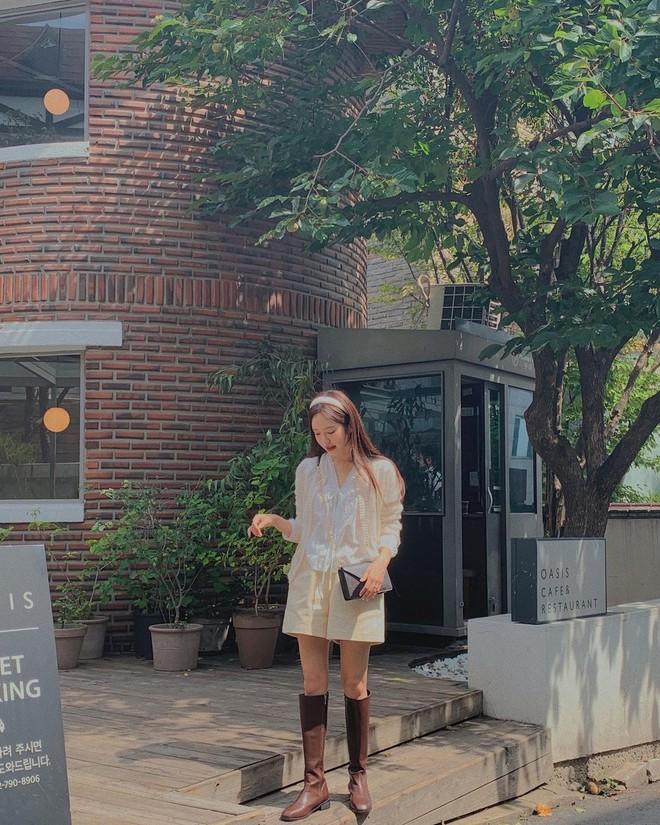 Gái Hàn lên đồ mùa thu trông yêu thế, biến tấu đa dạng với đủ loại trang phục nhìn mà ưng cái bụng - ảnh 2