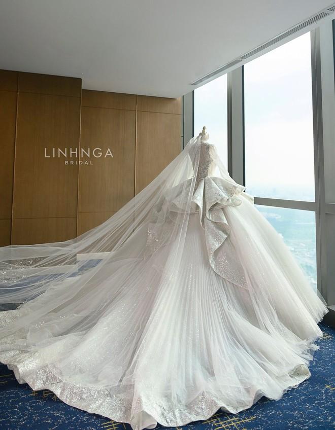 Ảnh Xoài Non làm cô dâu lại gây sốt diện rộng, giờ ngắm lại loạt váy cưới đỉnh cao vẫn thấy đẹp mê li - ảnh 6