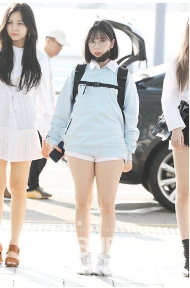 Cùng mặc một kiểu trang phục, 5 sao Hàn này trông thế nào trước và sau khi giảm cân? - Ảnh 1.