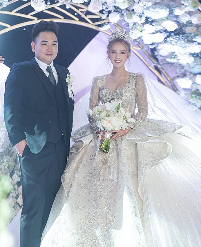 Ảnh Xoài Non làm cô dâu lại gây sốt diện rộng, giờ ngắm lại loạt váy cưới đỉnh cao vẫn thấy đẹp mê li - ảnh 5