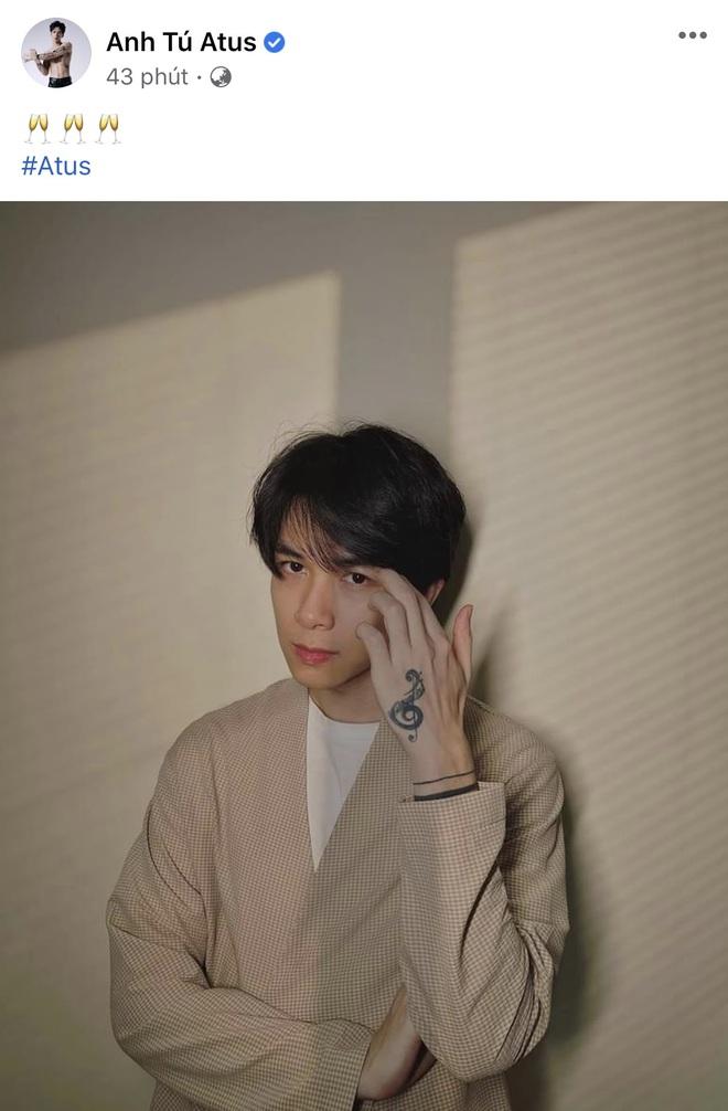 Anh Tú đăng ảnh chứa ký tự đặc biệt, netizen ồ ạt hỏi có phải đầy tháng con với Diệu Nhi? - ảnh 1