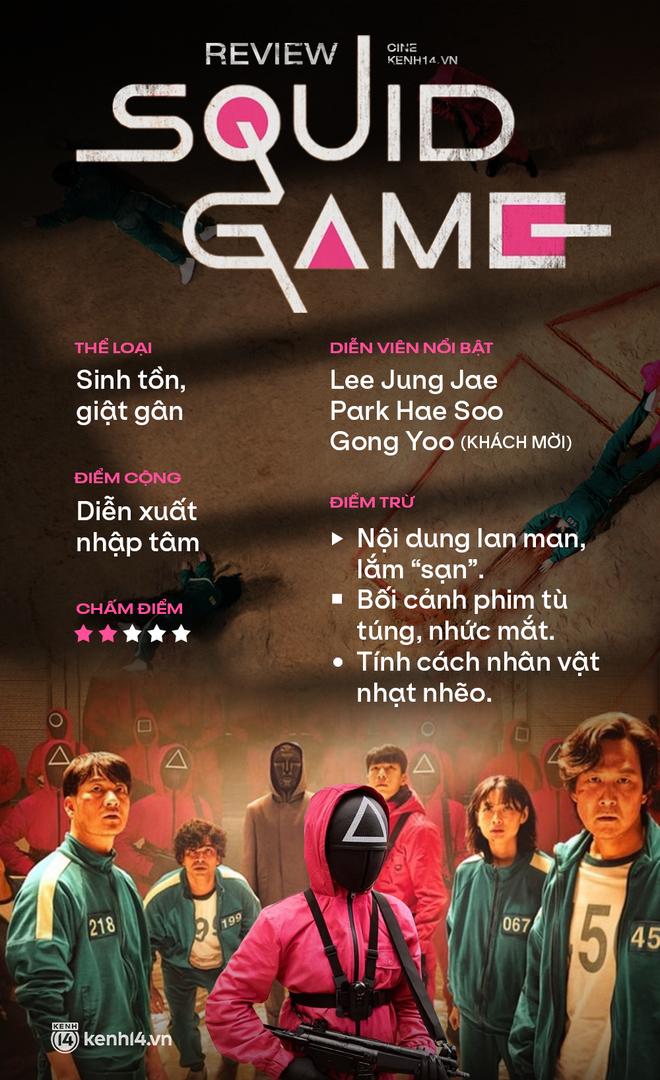 Squid Game: Chúc mừng Hàn Quốc đã tạo ra bộ phim sinh tồn dở nhất mọi thời đại - ảnh 11