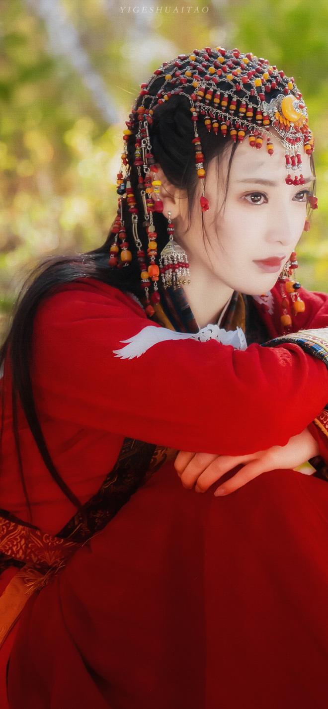 Bạch Lộc, Nhiệt Ba, Bành Tiểu Nhiễm... loạt mỹ nhân sinh ra để mặc y phục đỏ, ai nấy đều đẹp tới nao lòng - ảnh 7
