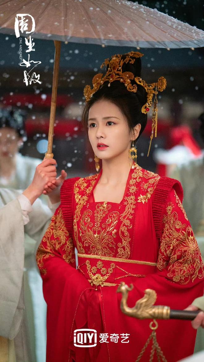 Bạch Lộc, Nhiệt Ba, Bành Tiểu Nhiễm... loạt mỹ nhân sinh ra để mặc y phục đỏ, ai nấy đều đẹp tới nao lòng - ảnh 4