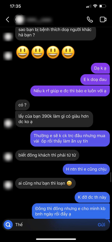 Màn đối đáp gây sốc của 1 cửa hàng có tiếng tại Hà Nội: Liên tục đổi giọng, mắng khách hàng im miệng và chỉ chuyển lại 300k dù khách đã đặt 390k tiền ốp điện thoại - ảnh 11