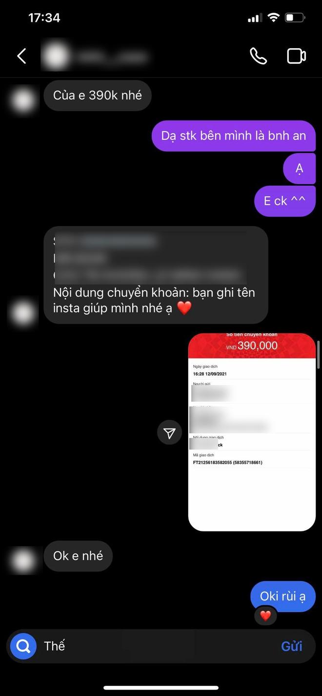 Màn đối đáp gây sốc của 1 cửa hàng có tiếng tại Hà Nội: Liên tục đổi giọng, mắng khách hàng im miệng và chỉ chuyển lại 300k dù khách đã đặt 390k tiền ốp điện thoại - ảnh 2