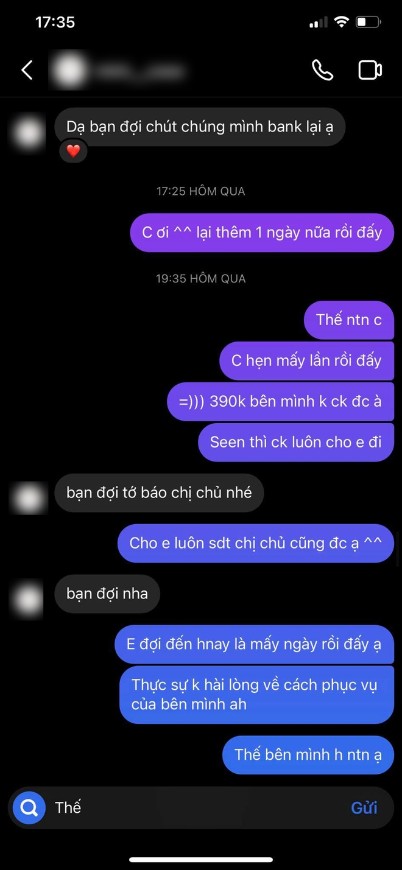Màn đối đáp gây sốc của 1 cửa hàng có tiếng tại Hà Nội: Liên tục đổi giọng, mắng khách hàng im miệng và chỉ chuyển lại 300k dù khách đã đặt 390k tiền ốp điện thoại - ảnh 7