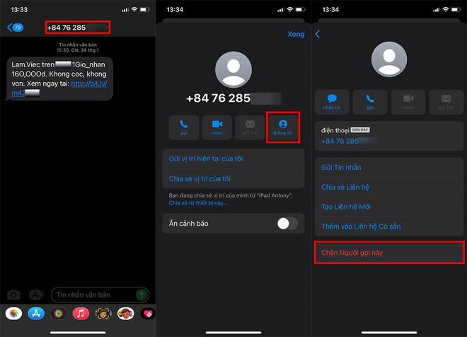 Cảnh báo chiêu trò lừa đảo mới qua iMessage trên iPhone: Đây là cách để bạn xử lý trong 1 nốt nhạc! - ảnh 5
