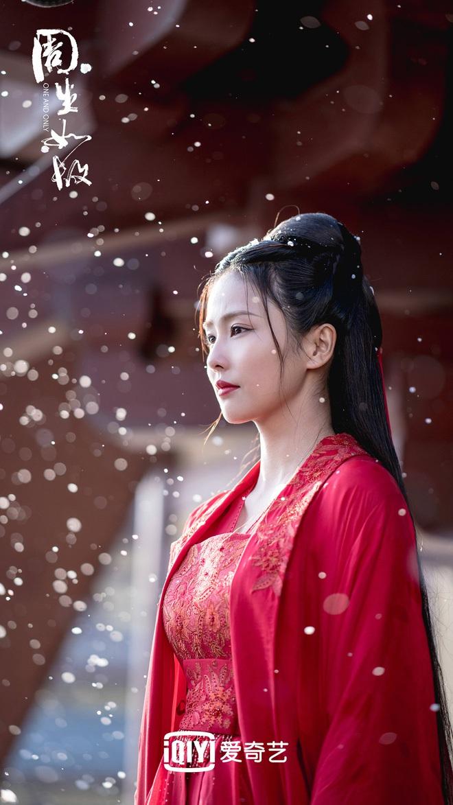 Bạch Lộc, Nhiệt Ba, Bành Tiểu Nhiễm... loạt mỹ nhân sinh ra để mặc y phục đỏ, ai nấy đều đẹp tới nao lòng - ảnh 3