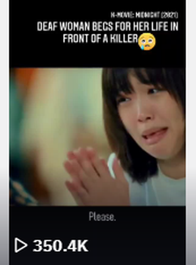 Cô gái câm bất lực, ú ớ cầu xin sát nhân biến thái tha mạng: Cảnh phim Hàn khiến 350.000 người đau tim liệu có cái kết đẹp? - ảnh 2