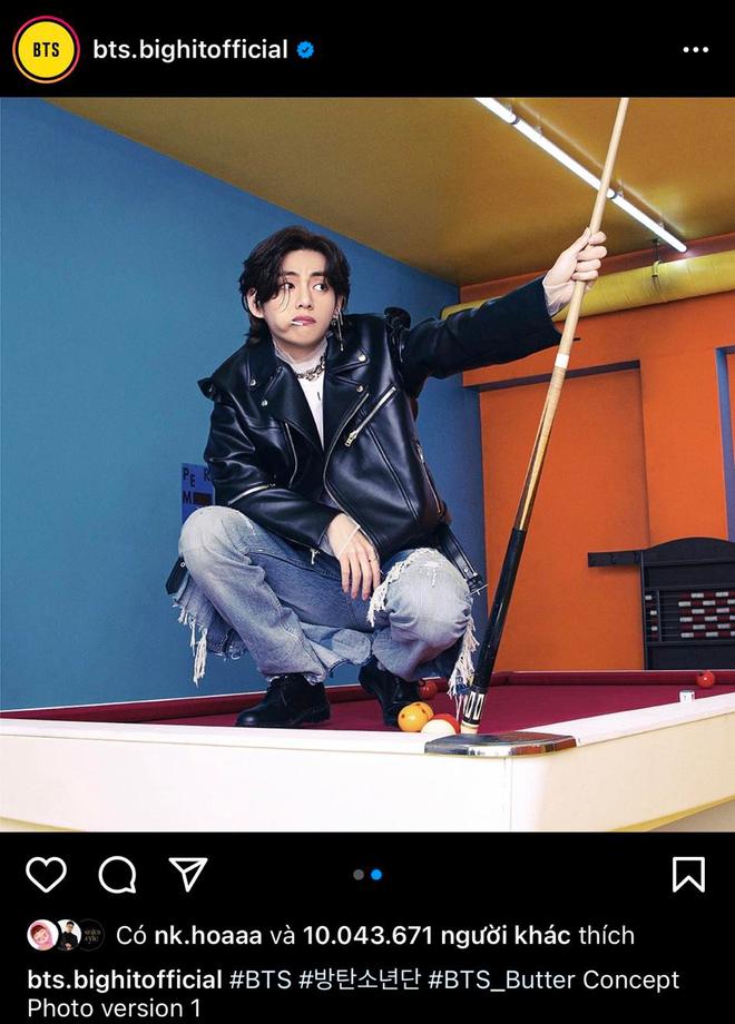 Một thành viên BTS phá vỡ chuỗi kỷ lục của Lisa (BLACKPINK) trên Instagram, lập thêm thành tích khủng! - ảnh 4
