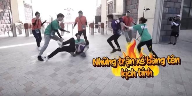 Trấn Thành, BB Trần như người tàng hình trong clip giới thiệu Running Man Việt mùa 2 - ảnh 1
