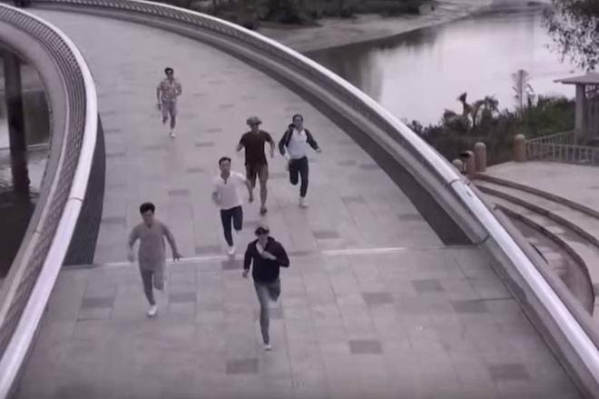 Trấn Thành, BB Trần như người tàng hình trong clip giới thiệu Running Man Việt mùa 2 - ảnh 2