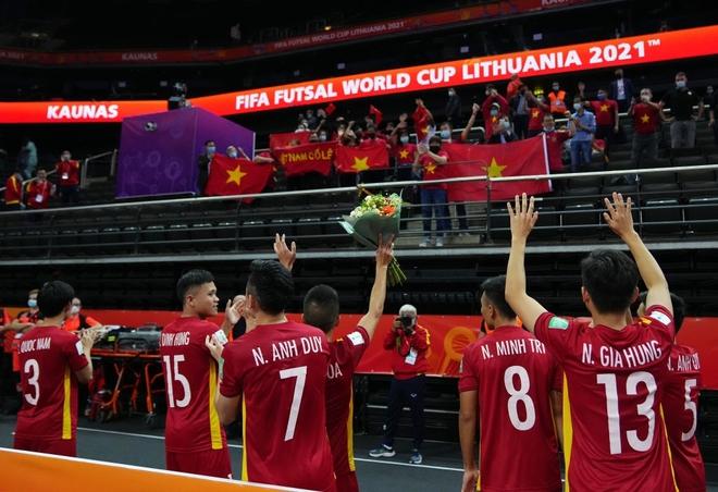 Không thể tin nổi! Tuyển futsal Việt Nam khiến đương kim á quân thế giới trải qua những phút giây sợ hãi - Ảnh 22.
