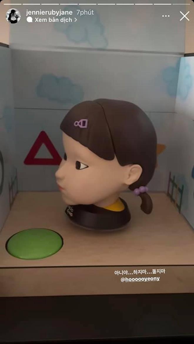 Bom tấn Squid Game gửi quà độc cảm ơn Jennie (BLACKPINK), cư dân mạng xem xong mà hãi hùng - ảnh 5