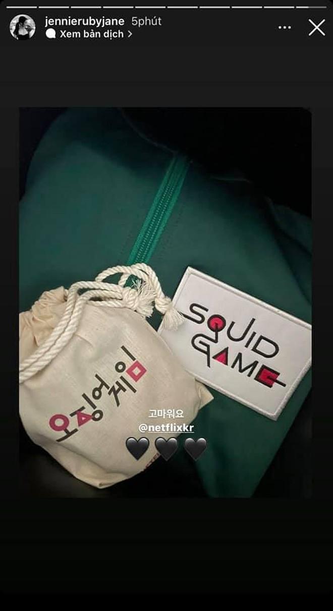 Bom tấn Squid Game gửi quà độc cảm ơn Jennie (BLACKPINK), cư dân mạng xem xong mà hãi hùng - ảnh 4