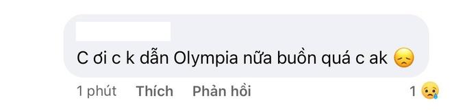 MC Diệp Chi âm thầm làm điều này khi netizen vẫn tràn vào hỏi: Vì sao không tiếp tục dẫn Olympia? - ảnh 3