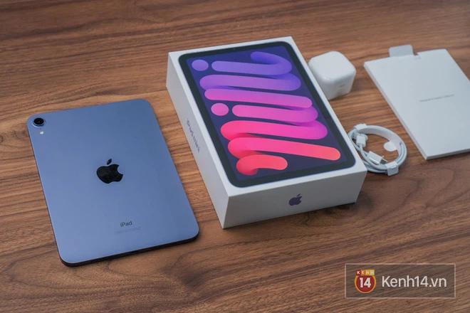 """Trên tay iPad mini 6 đầu tiên về Việt Nam: Thiết kế siêu """"mlem"""", đẹp đúng chuẩn Apple! - ảnh 2"""